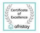 Afristay 2019 Certificate of Excellence