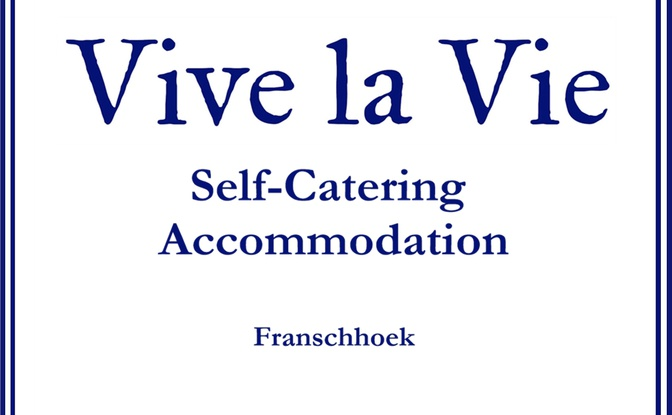Exclusive Self Catering Accommodation in Franschhoek